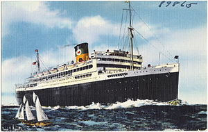 SS California (1928) - Image: Moore Mc Cormack Good Neighbor passenger liner