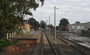 Mooroopna - Railway station and container terminal