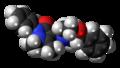 Morazone molecule spacefill.png