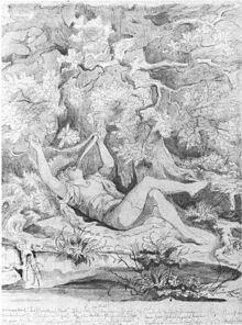 Des Knaben Wunderhorn (Entwurf eines Gemäldes von Moritz von Schwind) (Quelle: Wikimedia)