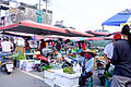 Morning Market beside Mingtan Road, Zuoying District, Kaohsiung 20151024.jpg
