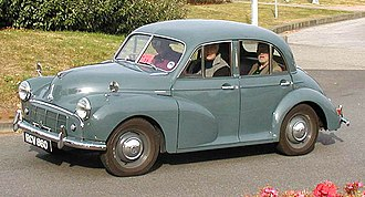 Morris Minor - Morris Minor Series II four-door saloon