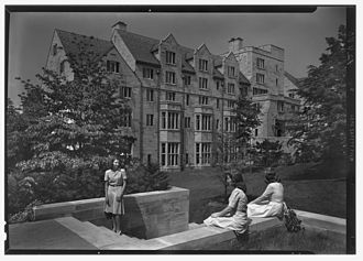 Indiana University Bloomington - Morrison Hall in June 1942