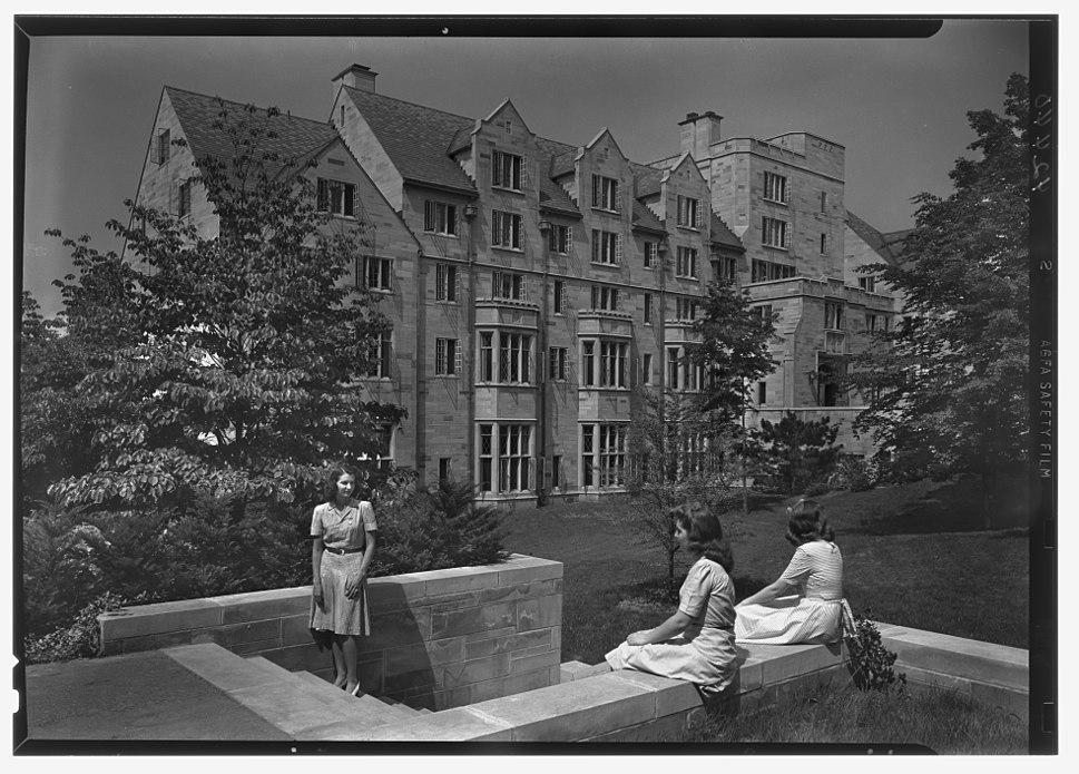 Morrison Hall Indiana University Bloomington 1942 LOC gsc.5a08774