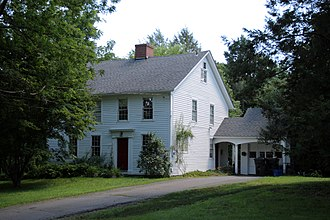 National Register of Historic Places listings in West Hartford, Connecticut - Image: Moses Brace Uriah Cadwell House in West Hartford, August 16, 2008