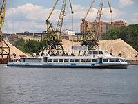Moskva-1 on Khimki Reservoir 22-jun-2012 01.JPG