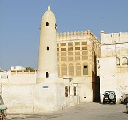 Mosque and Bait Siyadi, Muharraq, Bahrain.jpg