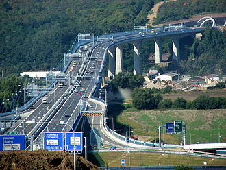 Highways in the Czech Republic - The longest Czech bridge, Radotínský most