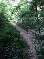 Mount Athos- old ivy covered stone bridge with wooden railing 1.jpg