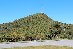 Mount Pisgah (mountain in North Carolina) - View of Mount Pisgah from the Blue Ridge Parkway, October 2016