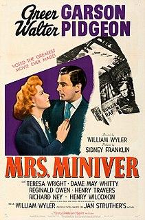 <i>Mrs. Miniver</i> 1942 film by William Wyler