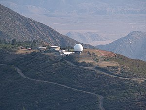 Mount Laguna Air Force Station - Photo of the Station in 2013.