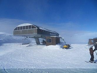 Mount Hutt - Image: Mt Hutt 6