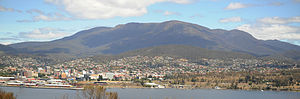 Wellington Park - Hobart with Mount Wellington in the background