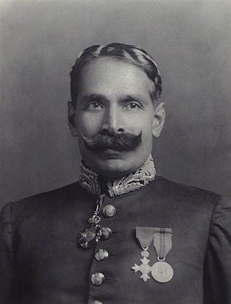 Muhammad Ahmad Said Khan Chhatari - Khan in 1930