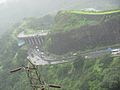 Mumbai Pune Road at Khandala.jpg