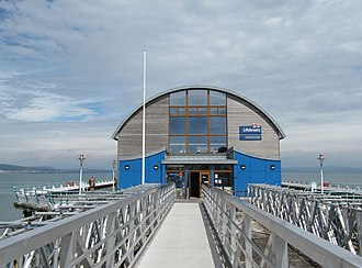 The Mumbles Lifeboat Station - New Mumbles Lifeboat Station, opened in 2014