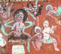 Mural in 275th Cave of Mogao Caves.png