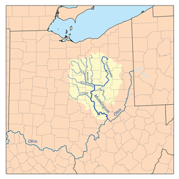 River Source Map