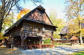 Muzeum - skanzen (Rožnov pod Radhoštěm) - Dřevěné městečko 05.JPG