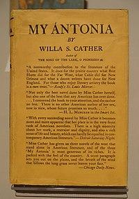 My Ántonia cover