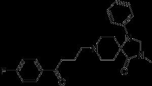 N-Methylspiperone - Image: N Methylspiperone