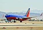 N283WN Southwest Airlines 2007 Boeing 737-7H4 C-N 36610 (7228914078).jpg