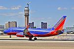 N905WN Southwest Airlines 2008 Boeing 737-7H4 C-N 36617 (8640920787).jpg
