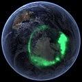 NASA's IMAGE Spacecraft View of Aurora Australis from Space (6257079237).jpg