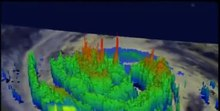 File:NASA's TRMM Satellite Sees Hurricane Isaac Drench Louisiana 3D View.ogv