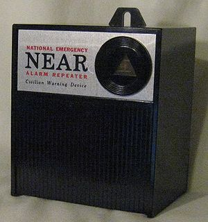 National Emergency Alarm Repeater - The N.E.A.R. Warning Device.