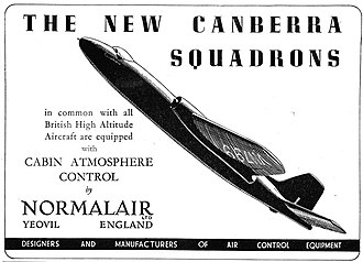 Normalair - NGL Canberra advertisement