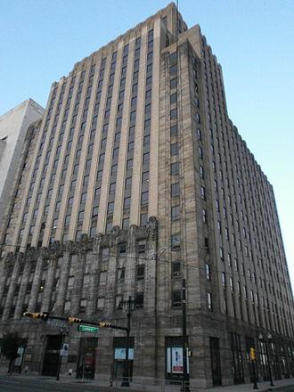 New Jersey Bell Headquarters Building - Image: NJ Bell Headquarters Newark 01