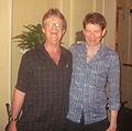 NOLA Jazz Camp June13 Morten Gunnar Larsen Steve Pistorius.JPG