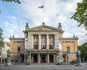 National Theatre (Oslo) - Image: NOR 2016 Oslo National Theatre