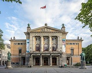 National Theatre (Oslo) theatre in Oslo, Norway