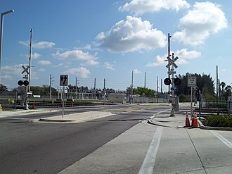 Miami Intermodal Center - Since the platforms were deemed too short for Amtrak trains, NW 25th Street will be closed for up to 45 minutes multiple times a day in the winter