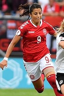 Nadia Nadim Afghan-Danish association footballer