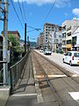 Nagasaki Electric Tramway Ishibashi Station-Oura Tenshudo-shita.JPG