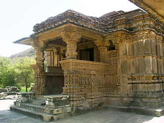 Architecture of Rajasthan - One of the Sahastra Bahu Temples built during the 10th century CE.