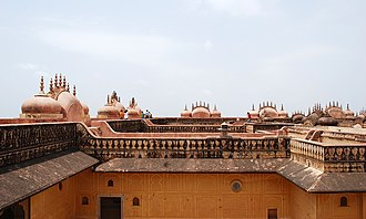 Nahargarh Fort - Roof Terrace of the Fort