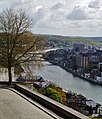 Namur Blick von der Zitadelle auf die Maas 14.jpg