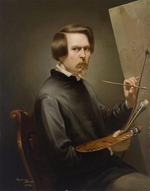 Napoleon Iłłakowicz - Self Portrait (1852)