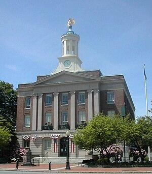 Nashua, New Hampshire - City Hall in 2006