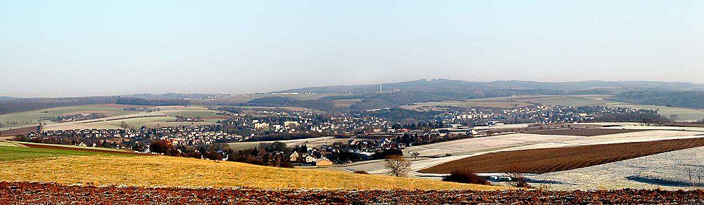 Panorama-Aufnahme von Nastätten
