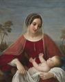 Natale Schiavoni – Madonna con bambino.tiff