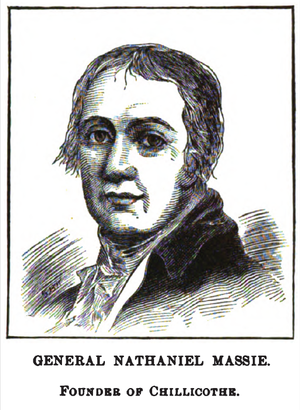 Nathaniel Massie - sketch by Henry Howe