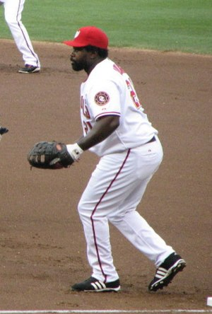 Dmitri Young - Young with the Washington Nationals