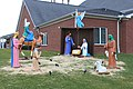 Nativity Scene at Beacon Baptist Church, 21721 Northline Road Taylor, Michigan - panoramio.jpg