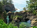 Natural Bridges as the fog clears - panoramio.jpg